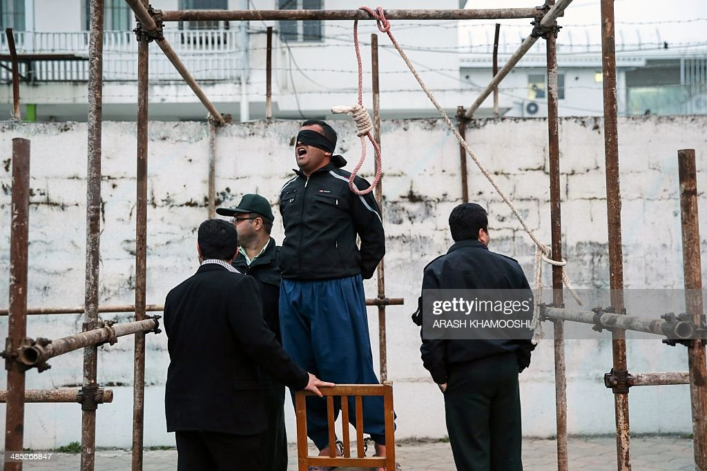 IRAN-SOCIAL-EXECUTION-ISLAM : News Photo