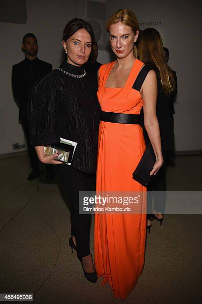 Balan Yana and Lana Smith attend the Guggenheim International Gala PreParty made possible by Dior on November 5 2014 in New York City