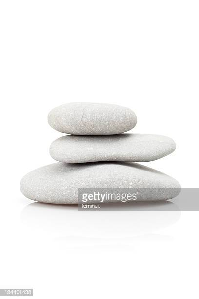 balance and pebbles - pebble stock photos and pictures
