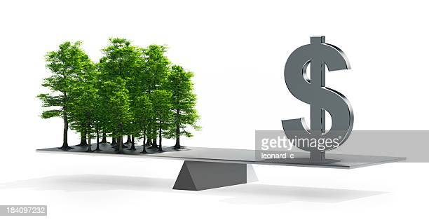 Balance between money and the environment