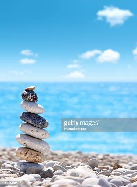 Equilibrio in blu