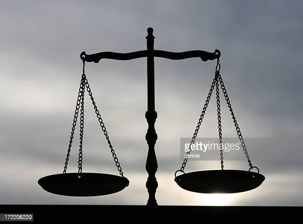 Equilibrio, della giustizia, con bilancia 2