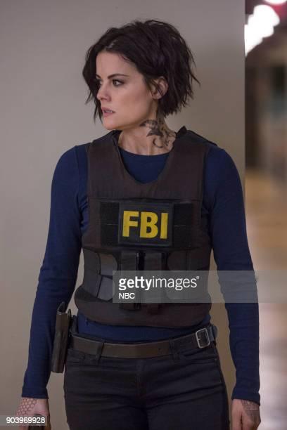 BLINDSPOT 'Balance of Might' Episode 310 Pictured Jaimie Alexander as Jane Doe