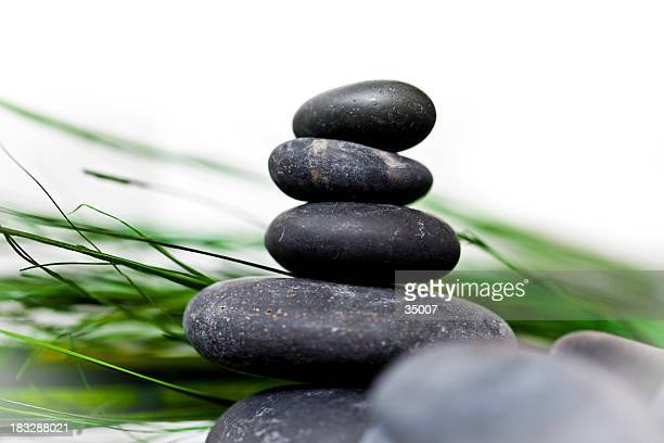 balance - bamboo stock photos and pictures