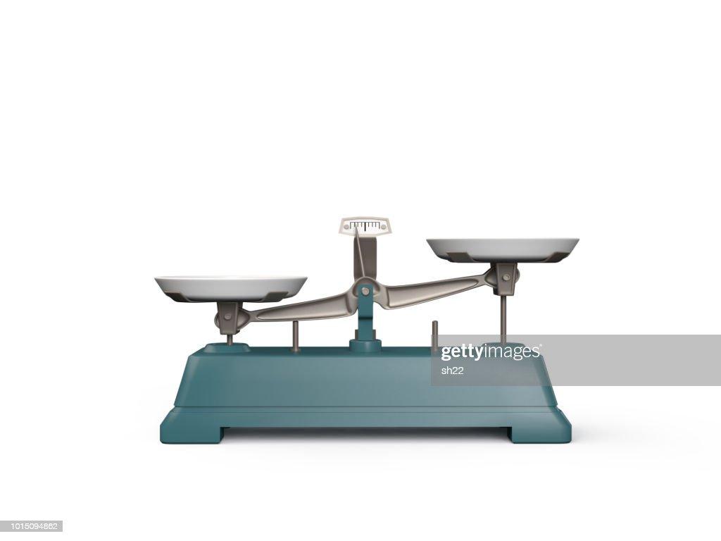 Balance scale : Stock Photo