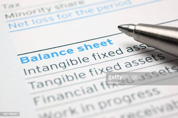 balance sheet - bank statement stock pictures, royalty-free photos & images