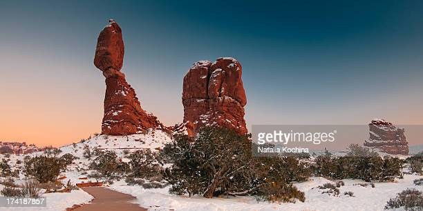 Balanced  Rock in Arches NP, Utah.