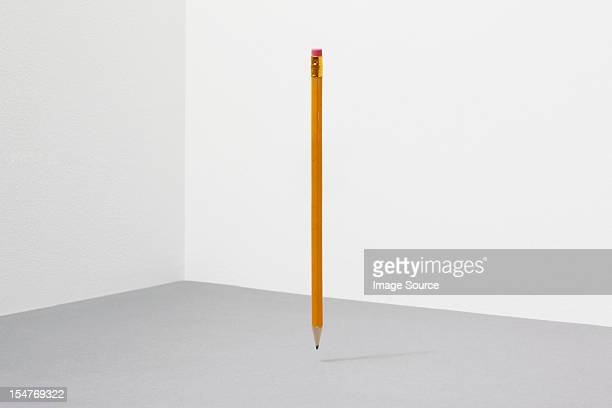 balancing pencil - pencil stock pictures, royalty-free photos & images