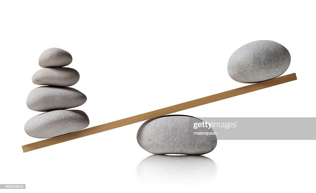 Balancing stones : Stock Photo