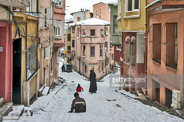 balat, istanbul - judaism stock pictures, royalty-free photos & images