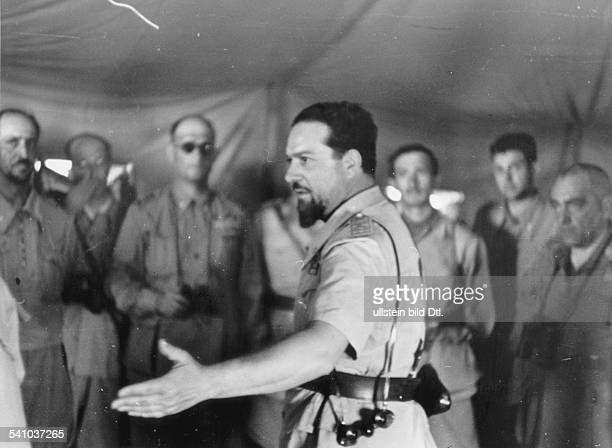 Balbo Italo *05061896 Officer Politician Italy Airforce minister Governorgeneral of ItalianLibya as governor general of ItalianLibya on one of his...