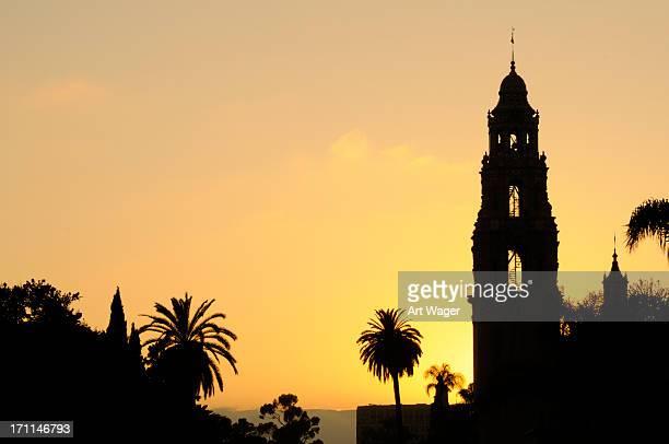Balboa Park at Sunset - San Diego