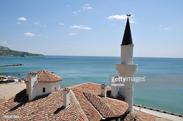 balchik, the palace of queen marie, bulgaria - bulgaria stock pictures, royalty-free photos & images