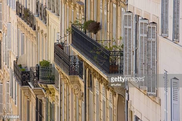 balconies in Marseille