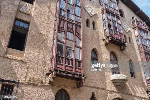 旧市街のバルコニー - アラバ県 ストックフォトと画像