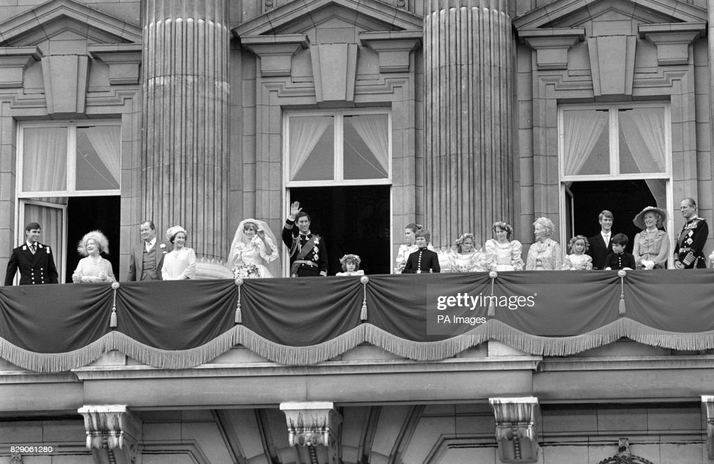 Royalty - Prince of Wales and Lady Diana Spencer Wedding - London : News Photo