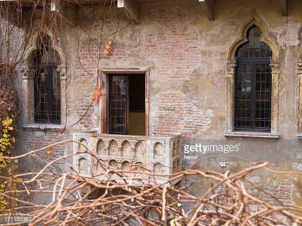 balcón de julieta - romeo y julieta obra reconocida fotografías e imágenes de stock