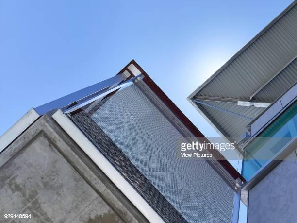 Balcony, sky, roof. Desert House, Alice Springs, Australia. Architect: Dunn Hillam Architects, 2014.