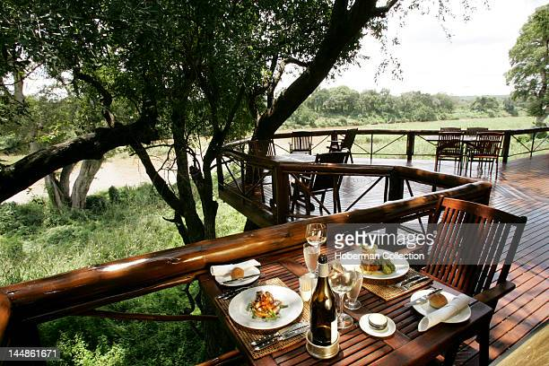 Balcony Tinga Legends Game Lodge Kruger National Park South Africa Africa