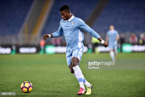 Balde Diao Keita of Lazio during the Serie A match between Lazio and Milan at Stadio Olimpico Rome Italy on 13 February 2017 Photo by Giuseppe Maffia