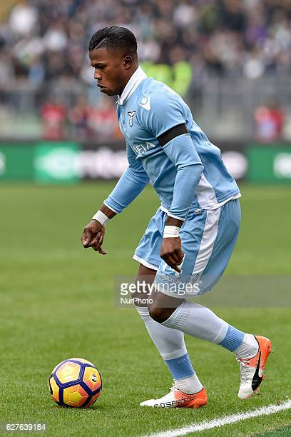 Balde Diao Keita of Lazio during the Serie A match between Lazio v Roma on December 4 2016 in Rome Italy