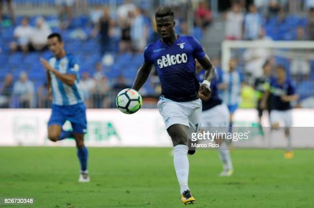 Balde Diao Keita of SS Lazio during the PreSeason Friendly match between Malaga CF and SS Lazio at Estadio La Rosaleda on August 5 2017 in Malaga...