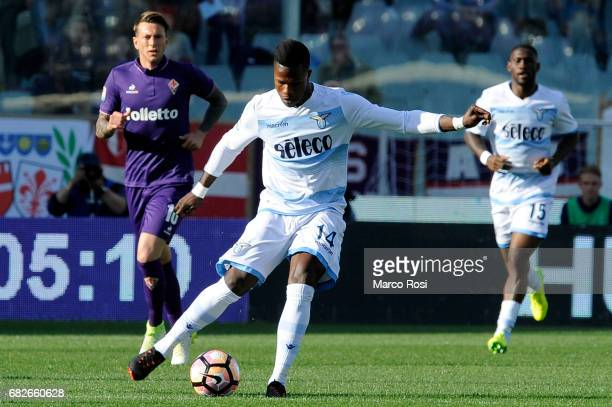 Balde Diao Keita of SS Lazio during the Serie A match between ACF Fiorentina and SS Lazio at Stadio Artemio Franchi on May 13 2017 in Florence Italy