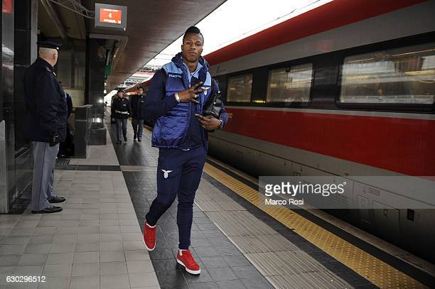 Balde Diao Keita of SS Lazio during the SS Lazio Depart For Milan on December 20 2016 in Rome Italy