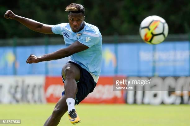Balde Diao Keita of SS Lazio during the SS Lazio PreSeason Training Camp Day 4 on July 13 2017 in Pieve di Cadore Italy