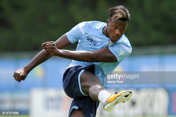 Balde Diao Keita of SS Lazio during the SS Lazio PreSeason Training Camp Day 4 on July 13 2017 in Pieve di Cadore Italy