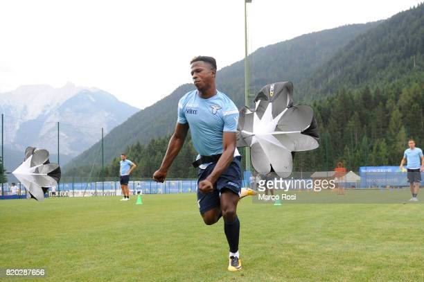 Balde Diao Keita of SS Lazio during the SS Lazio PreSeason Training Camp on July 21 2017 in Pieve di Cadore Italy