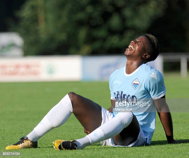 Balde Diao Keita of SS Lazio reacts during the preseason friendly match between SS Lazio and FC Kufstein on August 1 2017 in Kufstein Austria