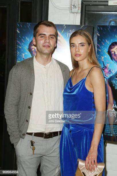Baldur Thor and Sis Saga attends the New York premiere of How to Talk to Girls at Parties at Metrograph on May 15 2018 in New York City