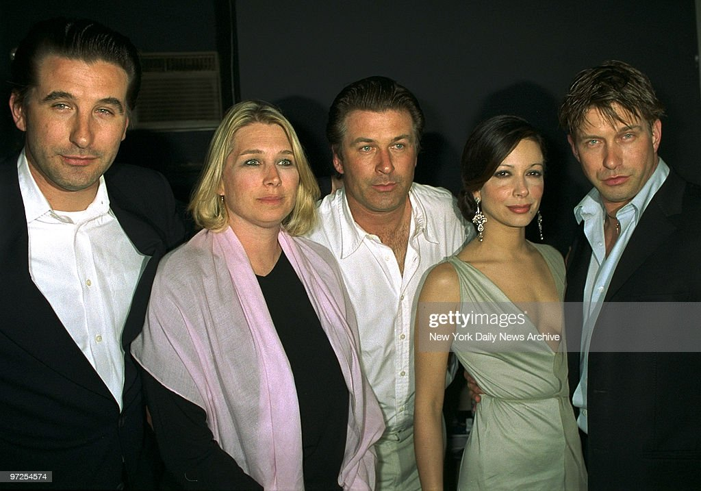 Baldwin family Billy, Beth, Alec, wife of Stephen and Stephe : News Photo