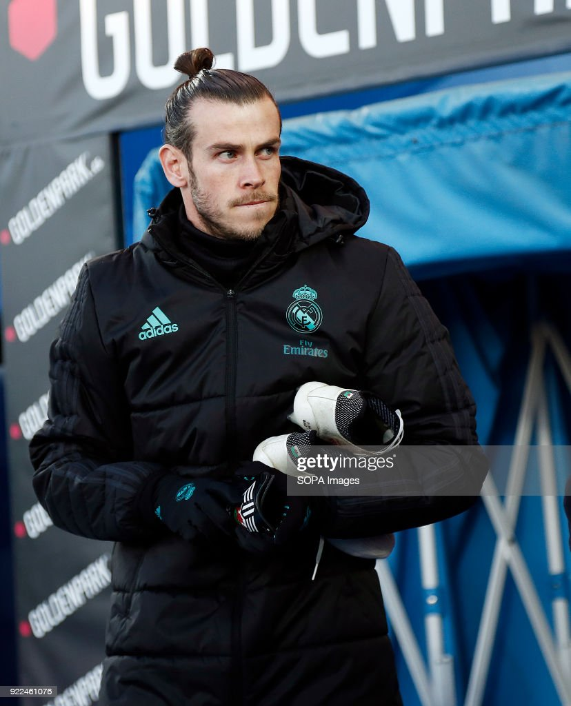 Bale (Real Madrid) seen before the match between Leganes vs...