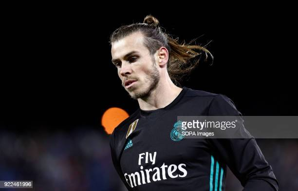 BUTARQUE LEGANES MADRID SPAIN Bale seen during the La Liga Santander match between Leganes vs Real Madrid at the Estadio Butarque Final Score Leganes...