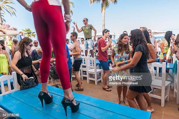 Balearic Islands - beach party at Platja d'en Bossa