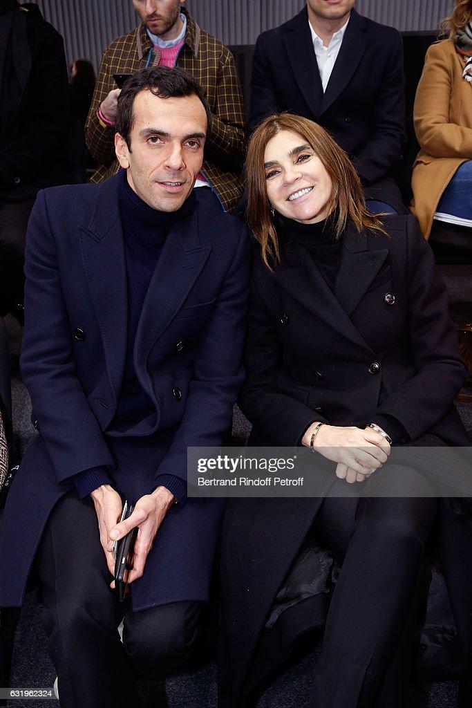 Balenciaga : Front Row - Paris Fashion Week - Menswear F/W 2017-2018