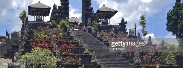 INDONESIA, Bali, Around the mother temple Pura Besakih on the flank of the volcano Agung (3142 m)