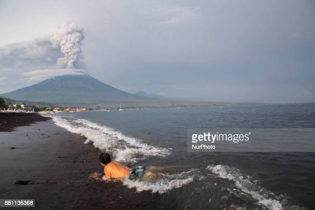 Since the increasing level to level 4 which is the highest statust allert eruption of mount agung already covering some area of Bali with ashes the...