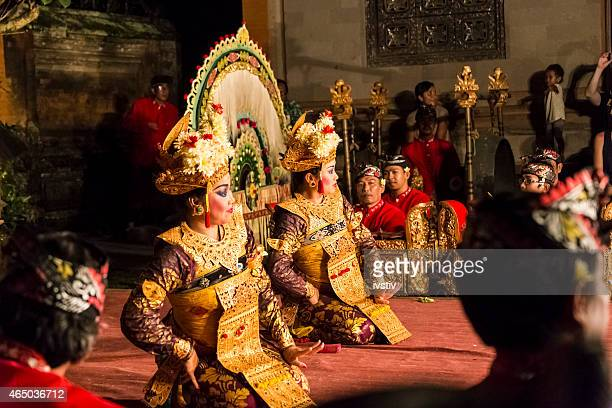 bali - legong dance - balinese culture stock pictures, royalty-free photos & images