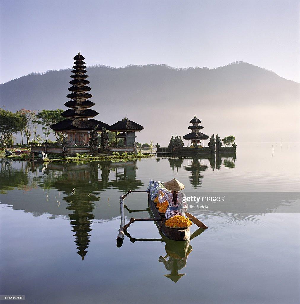 Bali Pura Ulun Danu Bratan Temple Stock Photo Getty Images