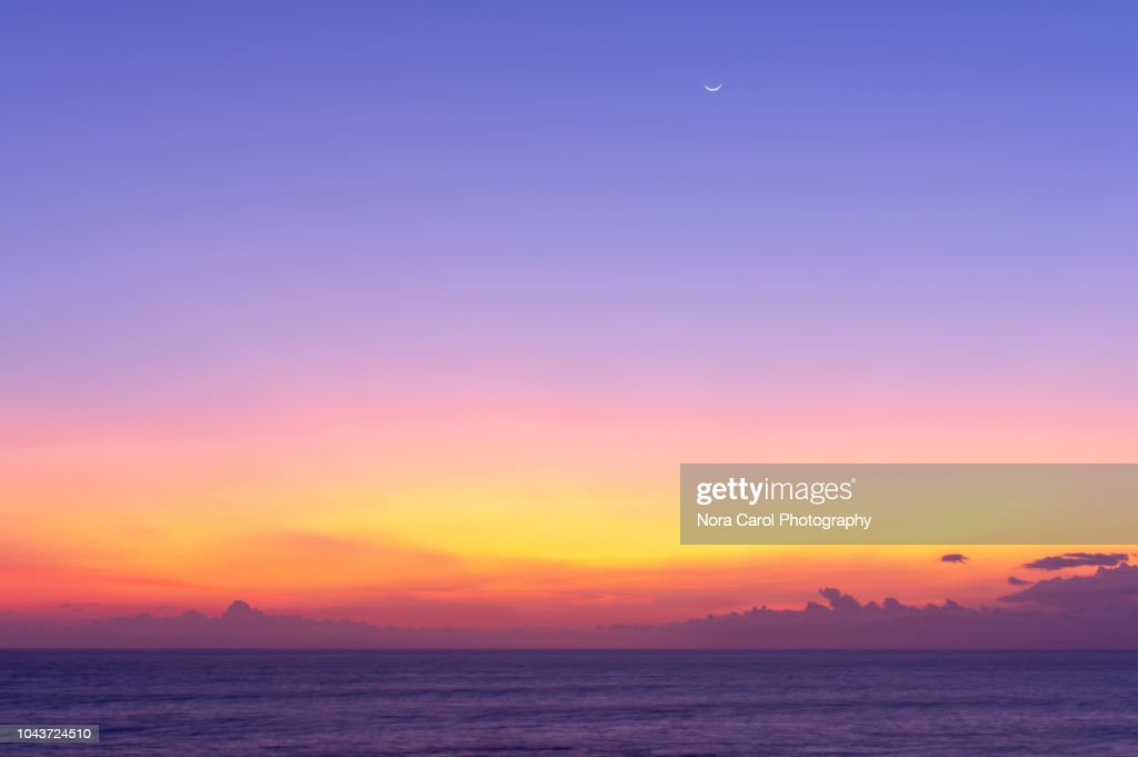 Bali Sunset Background : Stock Photo