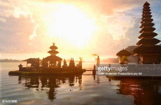 Bali water temple