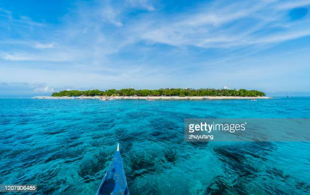 balicasag island - philippines stock pictures, royalty-free photos & images