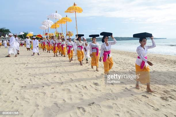 Balinese are getting ready to welcome Nyepi the Day of Silence in Bali which will be held on Tuesday March 28th and the day after is Caka New Year...