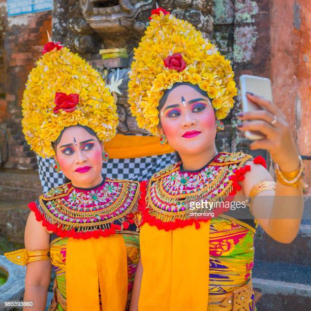 Balinese Dancers  Selfie after performing