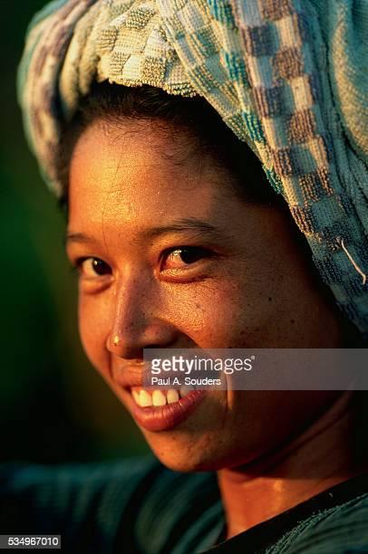 Balinese Farm Worker