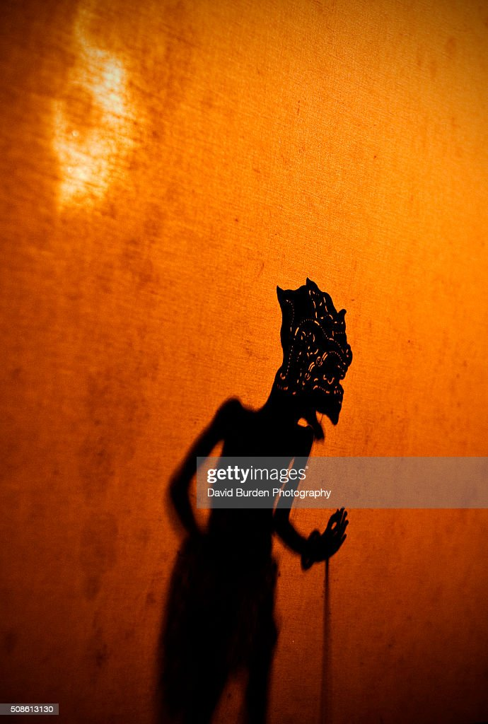 Balinese Shadow Puppets : Stock Photo