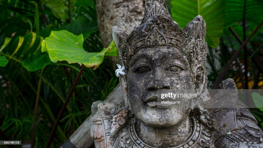 Balinese statue at Bali, Indonesia : Stock Photo